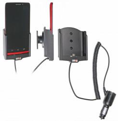 Support voiture  Brodit Motorola Droid Ultra  avec chargeur allume cigare - Avec rotule orientable. Réf 512570