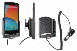 Support voiture  Brodit LG Nexus 5  avec chargeur allume cigare - Avec rotule orientable. Réf 512578