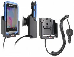 Support voiture  Brodit Motorola TC55  avec chargeur allume cigare - Avec rotule. Pour les deux batterie mince et étendue. Pour appareil avec TC55 Boot. Réf 512605
