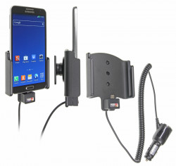 Support voiture  Brodit Samsung Galaxy Note 3 Neo  avec chargeur allume cigare - Avec rotule orientable. Réf 512664