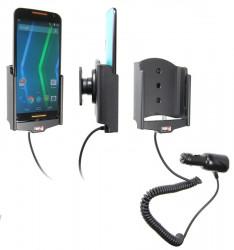 Support voiture  Brodit Motorola Moto X (2nd Gen)  avec chargeur allume cigare - Avec rotule orientable. Réf 512679
