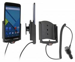Support voiture Brodit Nexus 6 avec chargeur allume cigare - Avec rotule orientable. Réf 512704