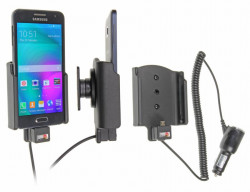 Support voiture  Brodit Samsung Galaxy A3  avec chargeur allume cigare - Avec rotule orientable. Réf 512715