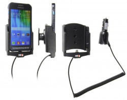 Support voiture  Brodit Samsung Galaxy Xcover 3  avec chargeur allume cigare - Avec rotule orientable. Réf 512736