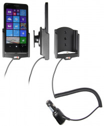 Support voiture Brodit avec chargeur intégré Microsoft Lumia 640 Ref. 512746 Réf 512746