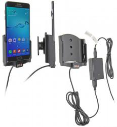 Support voiture  Brodit Samsung Galaxy S6 edge+  installation fixe - Avec système de connecteur Molex. Chargeur 2A. Avec rotule. Réf 513773