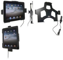 Support voiture  Brodit Apple iPad 1  avec chargeur allume cigare - Avec rotule. Avec câble USB. Chargeur approuvé par Apple. Réf 521139