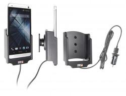 Support voiture  Brodit HTC One  avec chargeur allume cigare - Avec rotule. Avec câble USB. Réf 521524