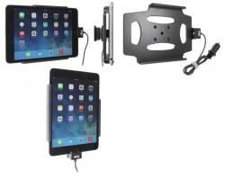 Support voiture  Brodit Apple iPad Mini 3  avec chargeur allume cigare - Avec rotule. Avec câble USB. Chargeur approuvé par Apple. Réf 521584