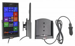 Support voiture  Brodit Nokia Lumia 1520  avec chargeur allume cigare - Avec rotule. Avec câble USB. Réf 521589