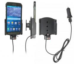 Support voiture  Brodit Samsung Galaxy S5 Active  avec chargeur allume cigare - Avec chargeur voiture USB. Avec rotule. Réf 521711