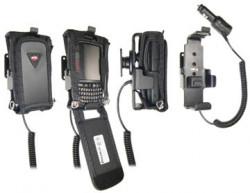 Support voiture  Brodit Motorola ES400  avec chargeur allume cigare - Avec rotule. Pour Mobilis article Cas n ° 4104 / SYM / ES400 / CR. Réf 522208