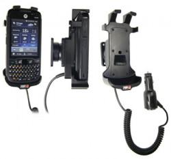 Support voiture  Brodit Motorola ES400  avec chargeur allume cigare - Avec rotule. Pour appareil avec batterie standard et étendu. Réf 526208