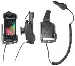 Support voiture  Brodit Motorola TC70  avec chargeur allume cigare - Avec rotule. Porte à 3 points pour un maintien plus sûr. Réf 526707