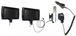 Support voiture  Brodit Mio Moov Spirit V 505 TV  avec chargeur allume cigare - Avec rotule. Grâce à la connectivité TMC, antenne TMC inclus. 12/24 Volt. Réf 528069
