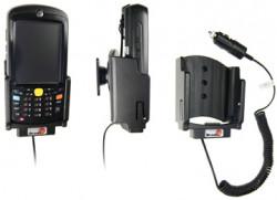 Support voiture  Brodit Motorola MC55  avec chargeur allume cigare - Avec rotule. Conception mince avec chargeur intégré dans le support. Réf 530013