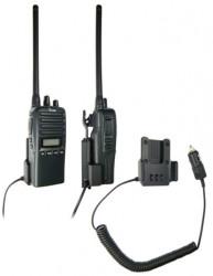 Support voiture  Brodit ICOM IC-F15  avec chargeur allume cigare - Conception mince avec chargeur intégré dans le support. Pour une utilisation avec des batteries Li-ion ou Li-Poly. Réf 530088