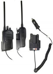 Support voiture  Brodit ICOM IC-F3002  avec chargeur allume cigare - Conception mince avec chargeur intégré dans le support. Pour une utilisation avec des batteries Li-ion ou Li-Poly. Réf 530145
