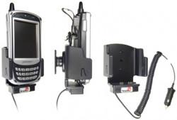 Support voiture  Brodit Pidion BIP-5000  avec chargeur allume cigare - Avec rotule. Conception mince avec chargeur intégré dans le support et avec USB On-The-Go connectivité. Réf 530166