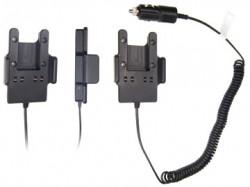 Support voiture  Brodit Harris P5400  avec chargeur allume cigare - Conception mince avec chargeur intégré dans le support. Pour une utilisation avec des batteries Li-ion ou Li-Poly. Réf 530219