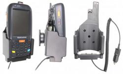 Support voiture  Brodit Datalogic ELF  avec chargeur allume cigare - Avec prise allume-cigare. Conception mince avec chargeur intégré dans le support. Réf 530270