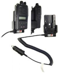 Support voiture  Brodit Zodiac Extreme  avec chargeur allume cigare - Conception mince avec chargeur intégré dans le support. Réf 530294