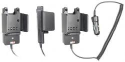 Support voiture  Brodit ICOM IC-F70  avec chargeur allume cigare - Conception mince avec chargeur intégré dans le support. Pour une utilisation avec des batteries Li-ion ou Li-Poly. Réf 530382