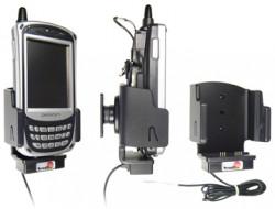 Support voiture  Brodit Pidion BIP-5000  installation fixe - Avec rotule. Conception mince avec chargeur intégré dans le support et avec USB On-The-Go connectivité. Réf 532166