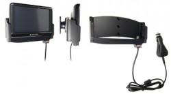 Support voiture  Brodit Navigon 70 Plus  avec chargeur allume cigare - Avec rotule. Et TMC intégrée dans le câble de charge. Réf 540195