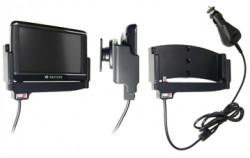 Support voiture  Brodit Navigon 40 Plus  avec chargeur allume cigare - Avec rotule. Et TMC intégrée dans le câble de charge. Réf 540225
