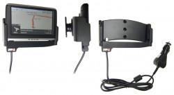 Support voiture  Brodit Navigon 42 Easy  avec chargeur allume cigare - Avec rotule. Et TMC intégrée dans le câble de charge. Réf 540320