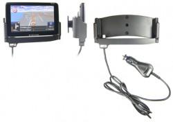 Support voiture  Brodit Navigon 92 Plus  avec chargeur allume cigare - Avec rotule. Et TMC intégrée dans le câble de charge. Réf 540330