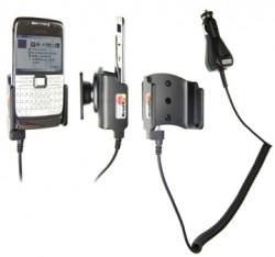 Support voiture  Brodit Nokia E71  avec chargeur allume cigare - Avec rotule orientable. Réf 965242