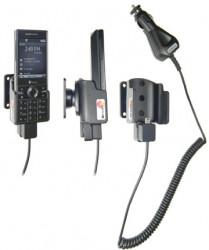 Support voiture  Brodit HTC S740  avec chargeur allume cigare - Avec rotule. Pour un montant position fermée. Réf 965273