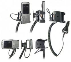 Support voiture  Brodit Nokia N79  avec chargeur allume cigare - Avec rotule orientable. Réf 965275