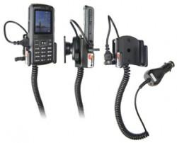 Support voiture  Brodit Samsung SGH-B2700  avec chargeur allume cigare - Avec rotule orientable. Réf 965277