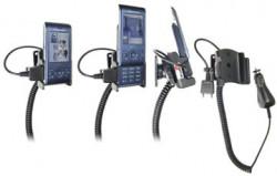 Support voiture  Brodit Sony Ericsson W595  avec chargeur allume cigare - Avec rotule orientable. Réf 965278
