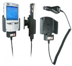 Support voiture  Brodit HP iPAQ hw65xx  avec chargeur allume cigare - Avec rotule 12/24 Volt. Uniquement pour batterie standard. Réf 968639