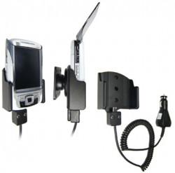Support voiture  Brodit HP iPAQ rw68xx  avec chargeur allume cigare - Avec rotule. 12/24 Volt. Réf 968674