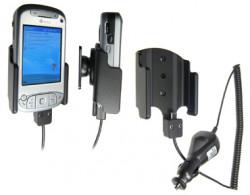 Support voiture  Brodit HTC Hermes  avec chargeur allume cigare - Avec rotule. Pour un montant position fermée. Réf 968690