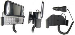 Support voiture  Brodit HTC Hermes  avec chargeur allume cigare - Avec rotule. Pour une position ouverte horizontale. Réf 968691