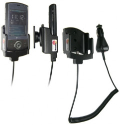 Support voiture  Brodit HTC Cruiser  avec chargeur allume cigare - Avec rotule orientable. Réf 968773