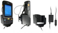 Support voiture  Brodit Motorola MC70  avec chargeur allume cigare - Avec rotule. Chargeur 2A. Pour appareil avec batterie standard et étendu. Réf 968788