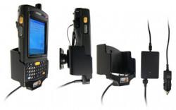 Support voiture  Brodit Motorola MC70  avec chargeur allume cigare - Avec rotule. Uniquement pour batterie standard. Réf 968811