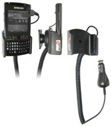 Support voiture  Brodit Samsung SGH-i780  avec chargeur allume cigare - Avec rotule orientable. Réf 968830
