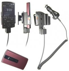 Support voiture  Brodit HTC Touch Diamond P3702  avec chargeur allume cigare - Avec rotule orientable. Réf 968862