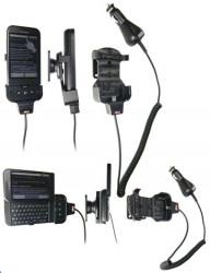 Support voiture  Brodit HTC Dream  avec chargeur allume cigare - Avec rotule orientable. Réf 968868
