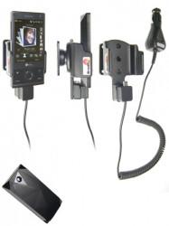 Support voiture  Brodit HTC P3700  avec chargeur allume cigare - Avec rotule. Pour E270 batterie étendue 1 340 mAh. Réf 968873