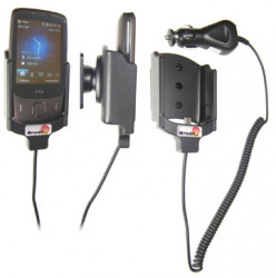 Support voiture  Brodit HTC Touch 3G  avec chargeur allume cigare - Avec rotule orientable. Réf 968876