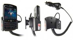 Support voiture  Brodit BlackBerry Curve 8900  avec chargeur allume cigare - Avec rotule orientable. Réf 968886